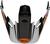 Bell-mx-9-adventure-visor-spare-part-dash-gloss-black-white-orange-top