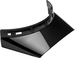 Bell-moto-3-culture-visor-spare-part-gloss-black-front-right