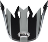 Bell-mx-9-visor-spare-part-dash-gloss-gray-black-white-top
