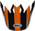 Bell-mx-9-visor-spare-part-dash-gloss-orange-black-top