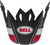 Bell-mx-9-visor-spare-part-twitch-replica-matte-gloss-black-red-white-top