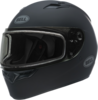 Bell-qualifier-snow-dual-shield-helmet-matte-black-front-left