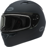 Bell-qualifier-snow-dual-shield-helmet-matte-black-front-left