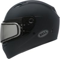 Bell-qualifier-snow-dual-shield-helmet-matte-black-left