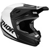 Sector-blade-youth-helmet-black-white