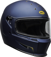 Bell-eliminator-culture-helmet-vanish-matte-blue-yellow-clear-shield-front-right