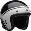 Bell-custom-500-culture-helmet-streak-gloss-black-white-front-right