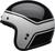 Bell-custom-500-culture-helmet-streak-gloss-black-white-left