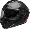 Bell-race-star-flex-dlx-street-helmet-carbon-lux-matte-gloss-black-red-front-left-clear-shield