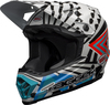 Bell-moto-9-youth-mips-dirt-helmet-tagger-check-me-out-gloss-black-white-blue-front-left