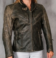 Teknic Women S Barracuda Leather Motorcycle Jacket