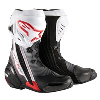 Supertech_boot_black_white_red