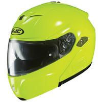 Hjc-sy-max-iii-solid-hi-viz-yellow-side