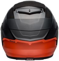 Bell-race-star-flex-street-helmet-carbon-lux-matte-gloss-black-orange-back
