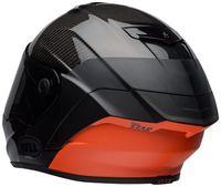 Bell-race-star-flex-street-helmet-carbon-lux-matte-gloss-black-orange-back-left