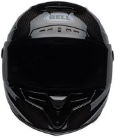 Bell-race-star-flex-street-helmet-carbon-lux-matte-gloss-black-orange-front