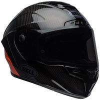 Bell-race-star-flex-street-helmet-carbon-lux-matte-gloss-black-orange-front-right