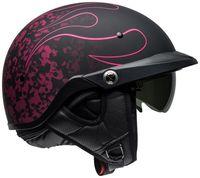 Bell-pit-boss-cruiser-helmet-catacombs-matte-black-pink-pin-right-2