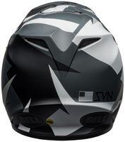 Bell-mx-9-mips-dirt-helmet-seven-battleship-matte-black-grey-back