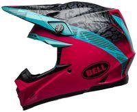 Bell-moto-9-mips-dirt-helmet-chief-matte-gloss-black-pink-blue-left