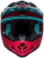 Bell-moto-9-mips-dirt-helmet-chief-matte-gloss-black-pink-blue-front