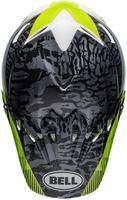 Bell-moto-9-mips-dirt-helmet-chief-matte-gloss-black-white-green-top