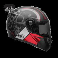Bell-srt-modular-street-helmet-hart-luck-skull-gloss-matte-charcoal-white-red-r