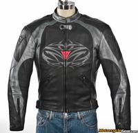 Dainese Tattoo Leather Jacket :: MotorcycleGear.com